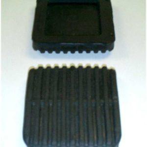 2 Brake & Clutch Pedal Pads for Toyota Land Cruiser FJ40 FJ60 79+-0