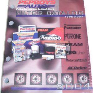 Pep Boys Filter Catalog Purolator Fram AC-Delco Book-0