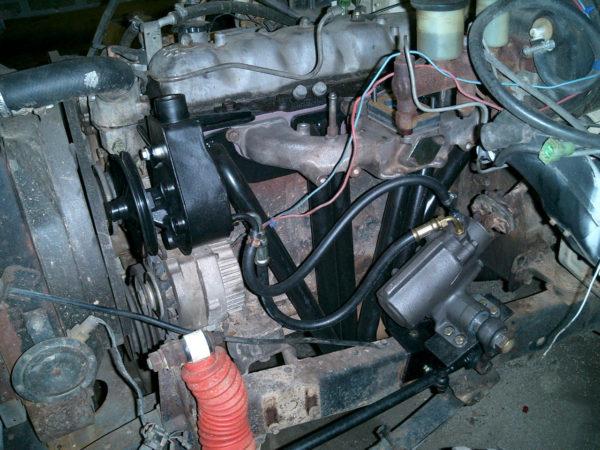 Mini Truck Gearbox Power Steering Bracket for Toyota Land Cruiser FJ40 FJ45-1668