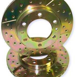 743 Rear Rotors for 98 Up 100 Series TLC-0