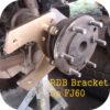 Rear Disc Brake Brackets Toyota Land Cruiser FJ40 FJ45 FJ55 FJ60 62 Conversion-4210