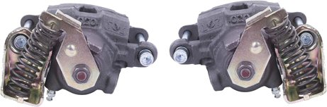 Rear Disc Brake Calipers Pair with Parking Brake-0