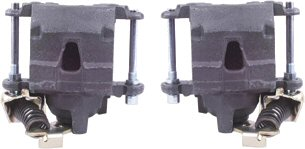 Rear Disc Brake Calipers Pair with Parking Brake-303