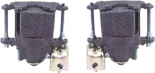 Rear Disc Brake Calipers Pair with Parking Brake-304