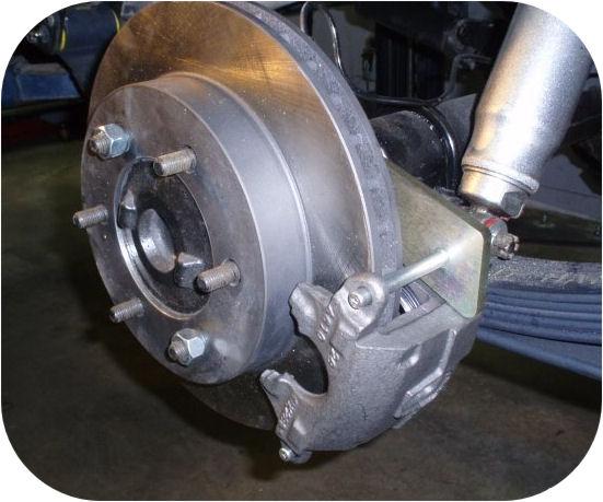 Rear Disc Brake Kit for Toyota Land Cruiser FJ40 FJ55 FJ60 FJ62 FJ80 Conversion-4958