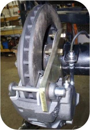 Rear Disc Brake Kit for Toyota Land Cruiser FJ40 FJ55 FJ60 FJ62 FJ80 Conversion-4959