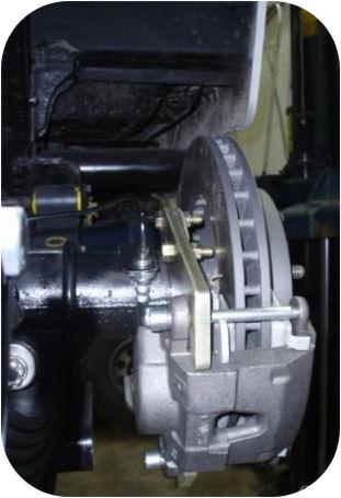 Rear Disc Brake Kit for Toyota Land Cruiser FJ40 FJ55 FJ60 FJ62 FJ80 Conversion-4960