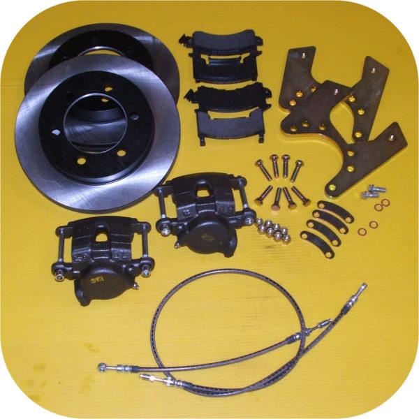 Rear Disc Brake Kit for Toyota Land Cruiser FJ40 FJ55 FJ60 FJ62 FJ80 Conversion-0