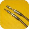 Stainless Steel Rear Disc Brake Kit Hoses Lines Toyota Land Cruiser FJ40 55 FJ60-301
