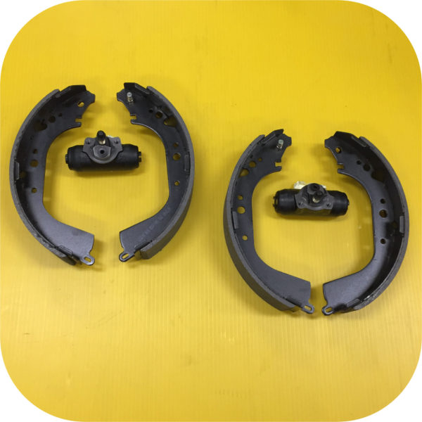 Rear Drum Brake Wheel Cylinder and Shoe Kit for Toyota Land Cruiser FJ40 FJ60-0