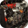 Saginaw Power Steering Pump Mount Land Cruiser 1F & 2F-356