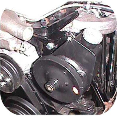 Saginaw Power Steering Pump Mount Land Cruiser 1F & 2F-351