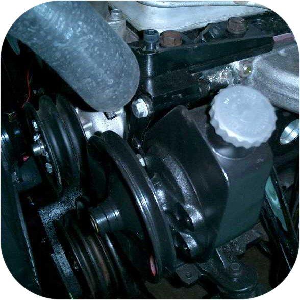 Saginaw Power Steering Pump Mount Land Cruiser 1F & 2F-352