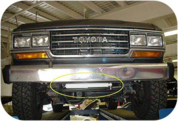 Steering Stabilizer Dampner for Toyota Land Cruiser FJ60 FJ62 FJ80 Shock Replacement -7234