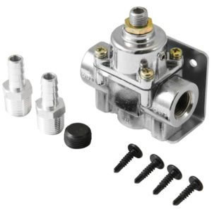 Adjustable Fuel Pressure Regulator 1-4 psi Inline-0