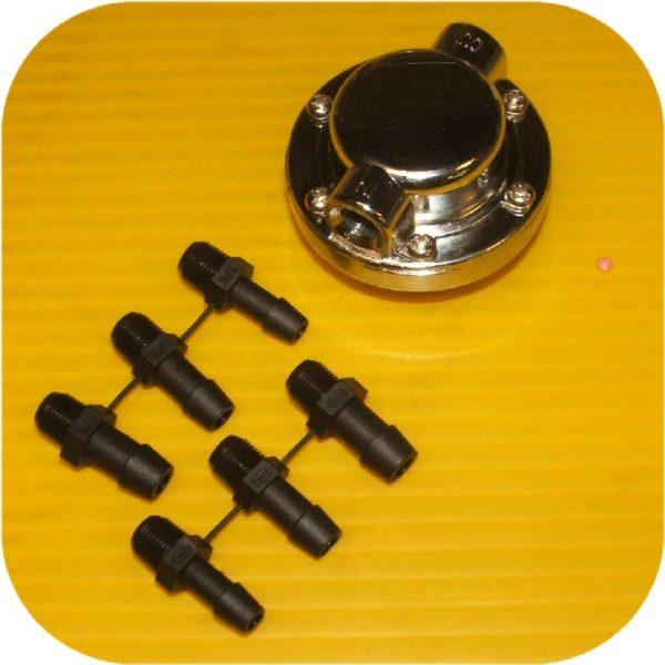 Fuel Pressure Regulator Weber Holley Kadron Carburetor-16399