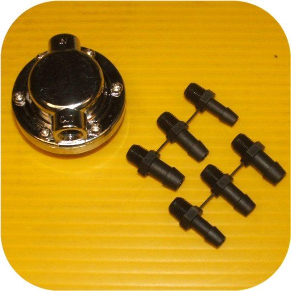 Fuel Pressure Regulator Weber Holley Kadron Carburetor-16400