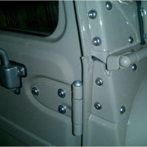 16 PACK Stainless Steel Bolt Kits for Land Cruiser Doors-0