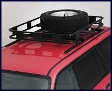 Safari Spare Tire Adapter Mount-81