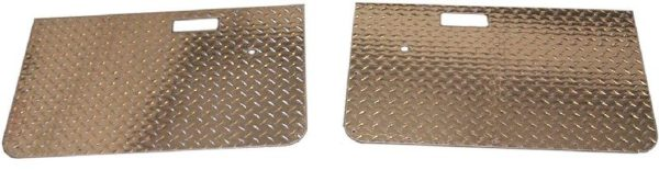Diamond Plate Door Panel Set for Toyota Land Cruiser FJ40 FJ45 Hard Top Doors-0