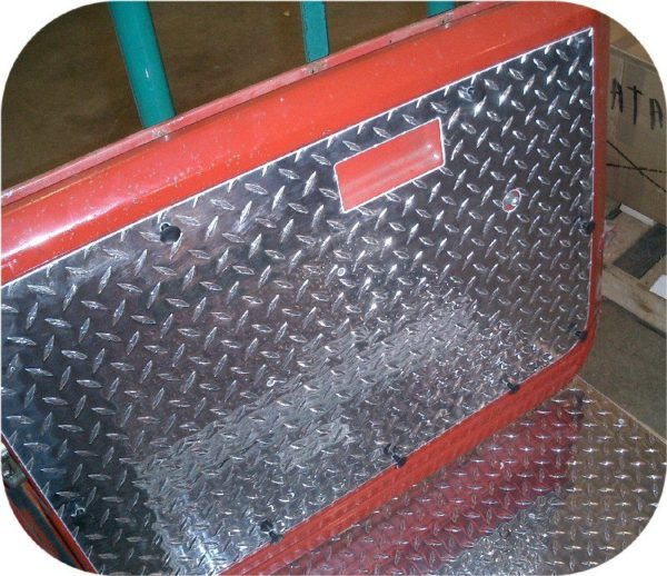 Diamond Plate Door Panel Set for Toyota Land Cruiser FJ40 FJ45 Hard Top Doors-5027
