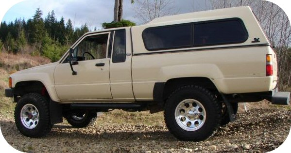 24 Acorn Lug Nuts Toyota PickUp Truck Tacoma 4Runner Land Cruiser FJ40 FJ60 4x4-6719
