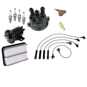 Tune Up Kit Toyota Pick Up Truck 93-95 22R Distributor Cap Rotor Fuel Air Filter-0