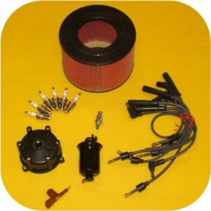 Tune Up Kit for Toyota Land Cruiser FJ80 91-92 3Fe-0