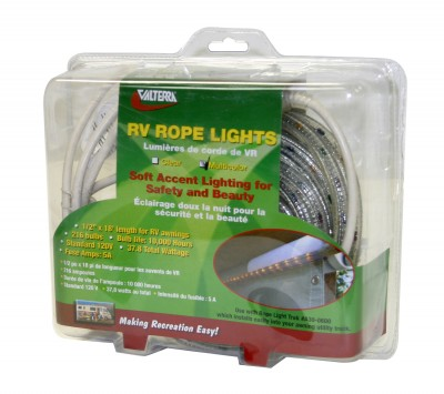 18 foot Multi-Colored Awning Rope Lights for Camper Travel ...