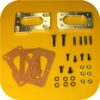 Weber Carburetor Manifold Adapter for Toyota Pickup Truck 4Runner 22R Carb Base-0