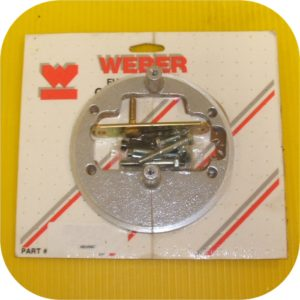 Round Air Cleaner Adapater for Weber Carburetor Kit-0