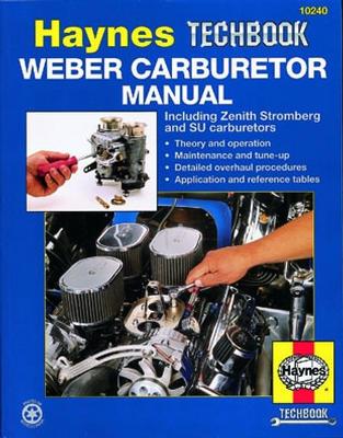 Haynes Rebuild Kit Manual Weber Carbs DGV IDF 32/36 44-0