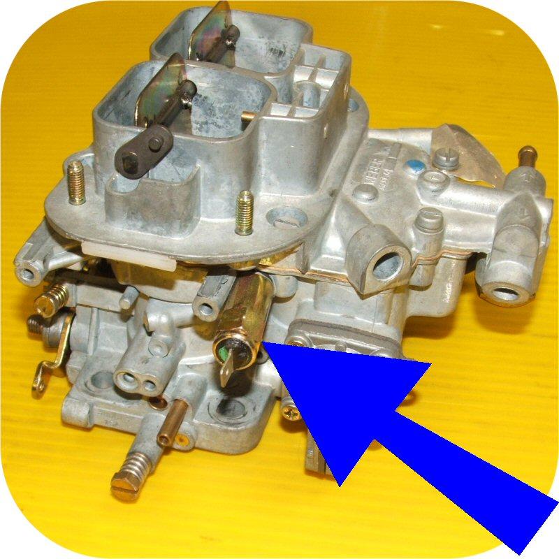 Weber Carburetor Idle Jet Solenoid 32/36 DGEV 38/38 DGES ...