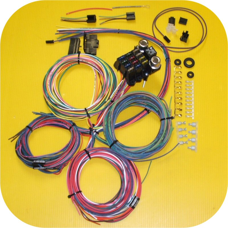 [ZSVE_7041]  Complete Wiring Harness IMC Scout II Toyota Land Cruiser FJ40 Ford Bronco  Truck | eBay | Scout Wiring Harness |  | eBay