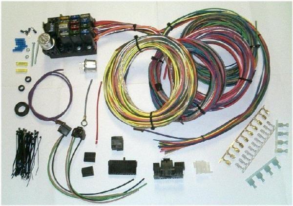 Wiring Harness for Toyota Land Cruiser FJ40 FJ45 FJ55-0