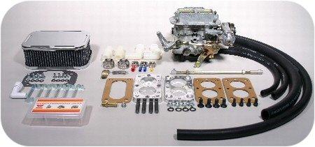 Hi Perf 38/38 Weber Carb Kit Jeep Wrangler CJ7 4.2L 258-0