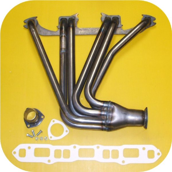 Performance Exhaust Header Toyota Land Cruiser 1F 2F FJ40 45 FJ55 FJ60 Manifold-0