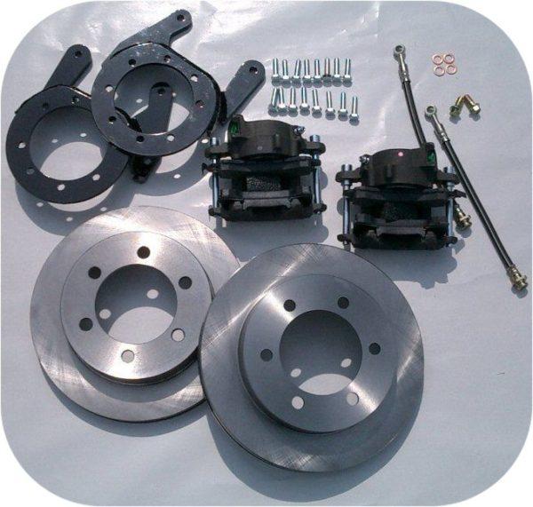 Front Disc Brake Conversion Kit for Toyota Land Cruiser 75 up NonUSA FJ40 FJ43 FJ45-0
