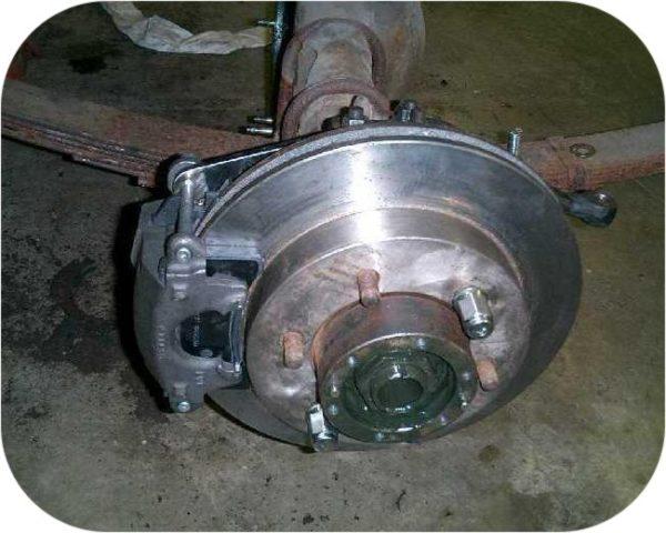 Front Disc Brake Conversion Kit for Toyota Land Cruiser 75 up NonUSA FJ40 FJ43 FJ45-22092