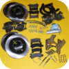 Front & Rear Disc Brake Conversion Kit Master Cyl for Toyota Land Cruiser FJ40-22249
