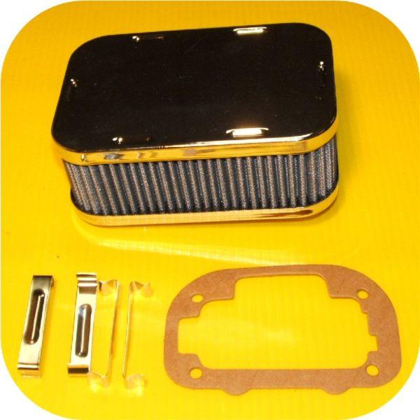Weber 38/38 Carburetor Tune Up Air Filter Cleaner & Rebuild Kit DGES-22437